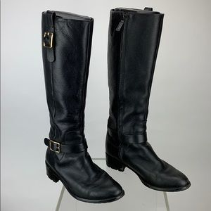 Cole Haan Kenmare Riding Boot in Black 7.5